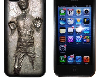Inspired Star wars Han solo frozen in Carbonite iPhone 5 5s case  iphone 4 4s case iphone 5c  iphone 6 case Silicone gear for iphone cases