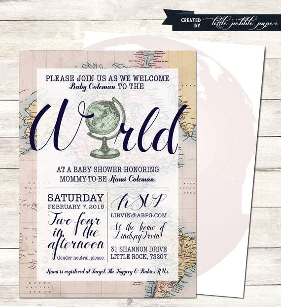 Welcome to the world baby shower invitation printable baby filmwisefo