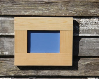 Rustic Wooden Frame. Made from Reclaimed Wood.