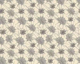 extra15 30% OFF  Penny Rose Fabrics Trick or Treat Webs Cream