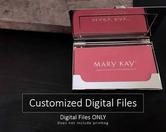 Mary Kay Business Cards   Design ONLY   No printing   DIGITAL FILES