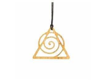 Oak cosmological symbol pendant