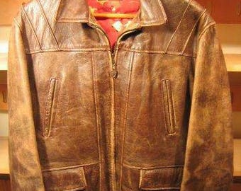 LEATHER USA 1940's Windward