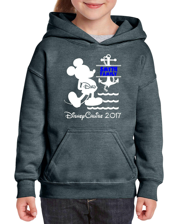 Disney Mickey Family Cruise Custom Vacation Magic Wonder Dream Fantasy sweatshirt hood hoodie zRJJeR3