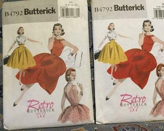 Butterick 50s dress pattern size 6-12
