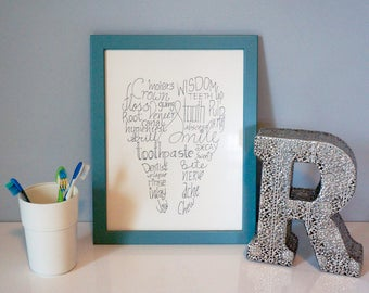 Dental Office Decor Etsy