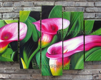 oil painting,flowers painting,modern canvas painting for home decor,framed,ready to hang,huge 170x80cm-NE059