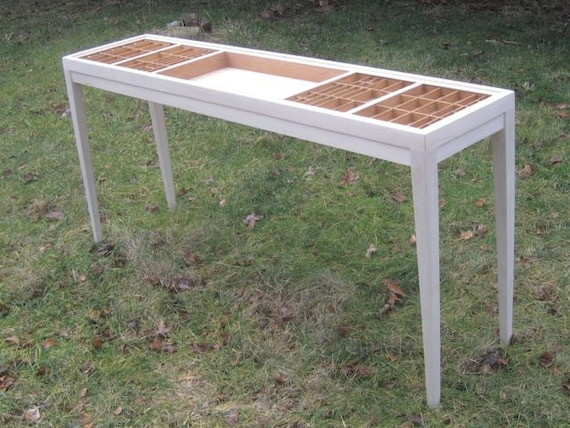 Wood Console Table Sofa Table In Which You That Can Display