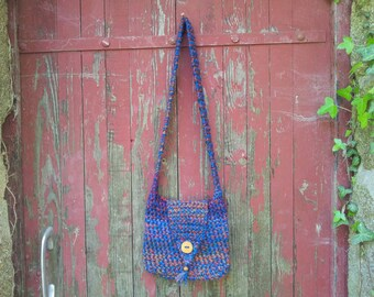 Crochet Bag, Handbag, Handmade Bag, Crossbody Bag, Bag, Bohemian Bag, Boho Bag, Hippie Bag, Shoulder Bag, Festival Bag, Pagan
