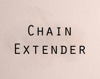 Chain Extender - Get Multiple Length Options instead of One!