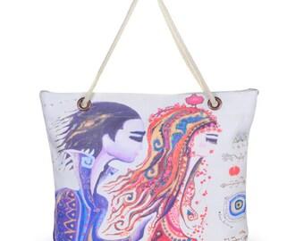 BiggDesign Love Beach Bag