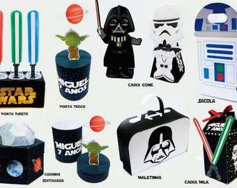 star wars party kit