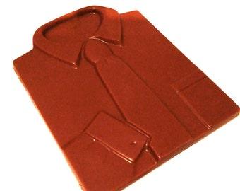 Chocolate Shirt & Tie