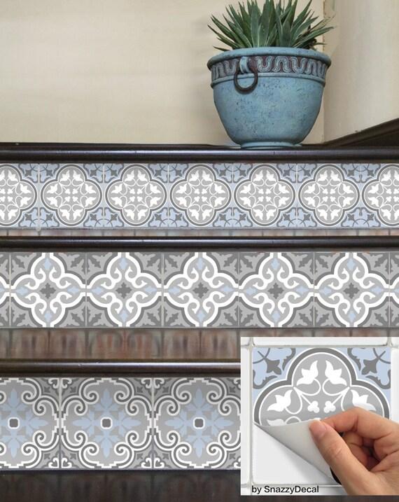 Pared azulejos extraíble azulejo etiquetas de la etiqueta