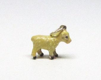 LAMB Charm, Lamb Necklace Pendant, Sterling Silver Charms, Easter Gifts, Easter Charms, Animal Charms, Lamb Bracelet, First Communion Gifts
