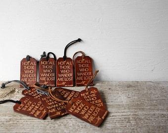 Personalized Luggage Tags Genuine Leather Bulk Wholesale