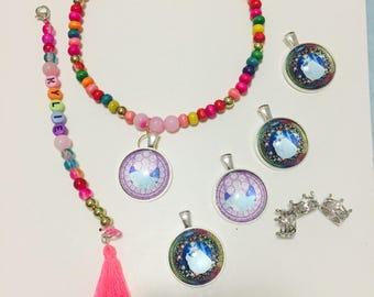 Cinderella necklace and bracelet