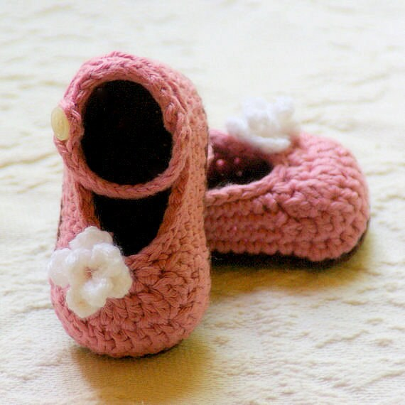 Mary Janes Crochet Pattern Instant PDF Download My Oh My