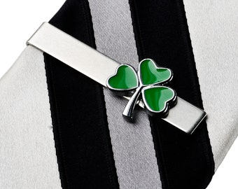 Shamrock Tie Clip