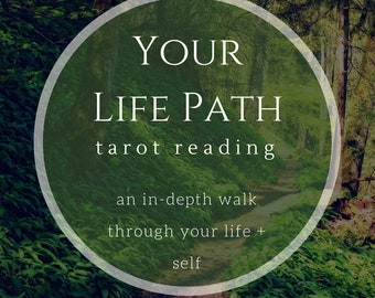 Life Path Tarot Reading, spiritual path reading, psychic tarot reading, video tarot reading, intuitive reading, intuitive guidance