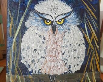 Painting Handmade Owl