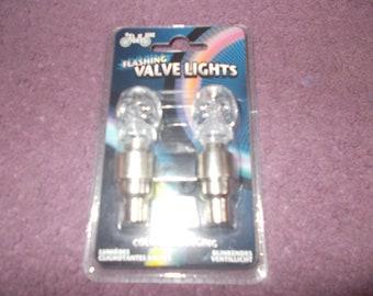 Flashing Valve Lights! Bike Bits~