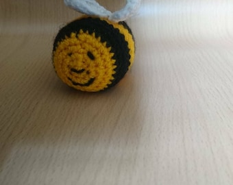 Cute Busy Bee Cat Toy With Carnip - Made To Order