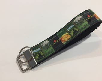 Inspired by The Hobbit Key Fob Keychain wristlet