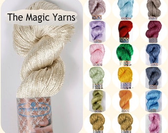 Silk yarn,viscose yarn,bright yarn,summer crochet yarn,gloss rayon yarn,crochet rayon yarn,silk yarn,crochet silky yarn, tassel