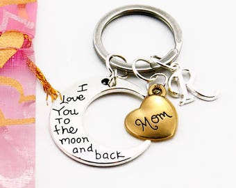 Mother's day gift for Mom gift Personalized mom Gifts for mother Mom birthday Mom from daughter Mom from Son Mother keychain Mommy and me