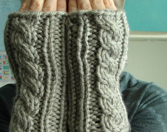 Pattern for Hand Warmers Topless Mitts Fingerless Gloves Hand Warmers Wrist Warmers Pattern