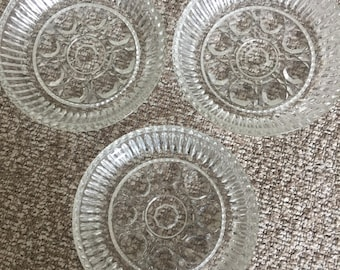 3 crystal coasters