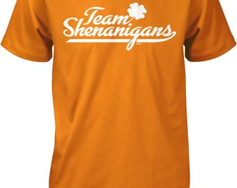 Team Shenanigans, St. Patricks Day Men's T-shirt, NOFO_00951