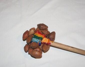 Apache lychee nut rattle