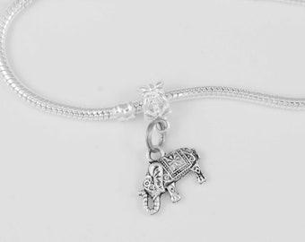 Elephant bracelet Elephant jewelry Elephant charm Elephant gift Elephant Africa bangle