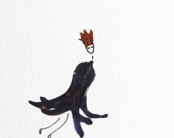 Greeting Card/Petite Art - Flying Nymph