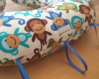 Tummy time pillow - Singes