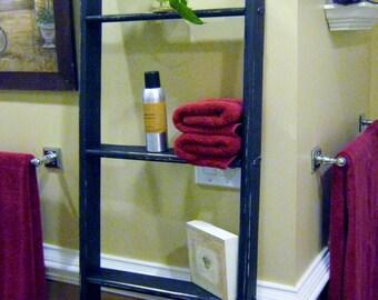 Blanket Ladder, Blanket Ladder Decor, Towel Rack, Blanket Rack, Decorative Ladder Quilt Ladder Towel Ladder, Wood Ladders