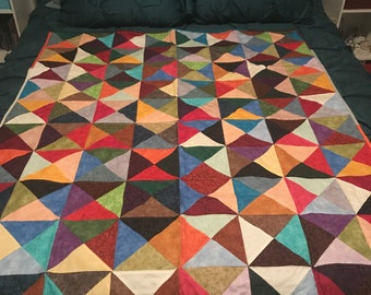 Funky Colored Quilt