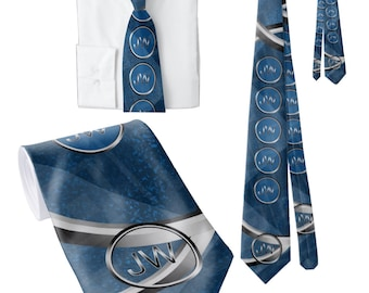 """JW theme neckties. """"The creation Rings"""" 58'"""" standard size. JW.ORG"""