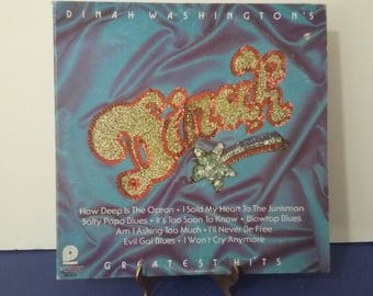 Dinah Washington - Greatest Hits - Circa 1960's
