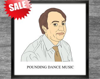 Peep Show Print | Mark | POUNDING DANCE MUSIC