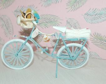 Shabby Beach Collection - Miniature Beach Bike