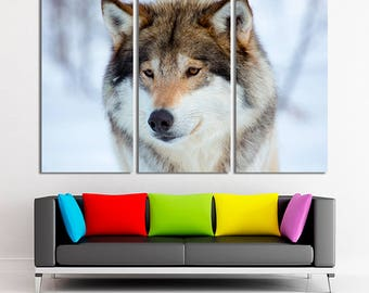 Wolf photo, Wolf canvas, Wolf wall art, Wolf print, Wolf home decor, Wolf picture, Wolf art, Wolf decor, Canvas, Large canvas, Canvas print