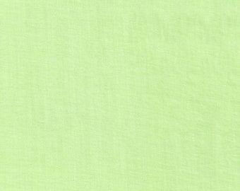 Celery Green Voile, Fabric By The Yard