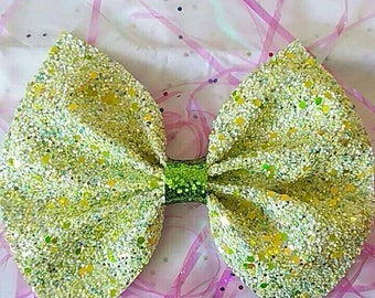 Lemon Lime bow