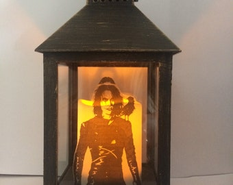 The Crow Double Sided Lantern