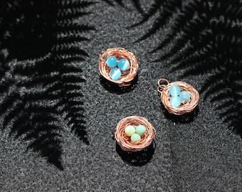 Copper Nest Pendants *sold separately
