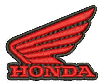 HONDA logo - Machine Embroidery Design