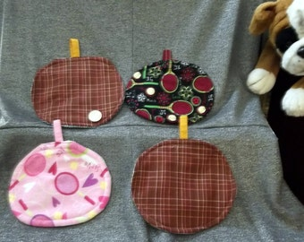Table Protector Pot Pillows Hot Pads, Tennis Courts Prints